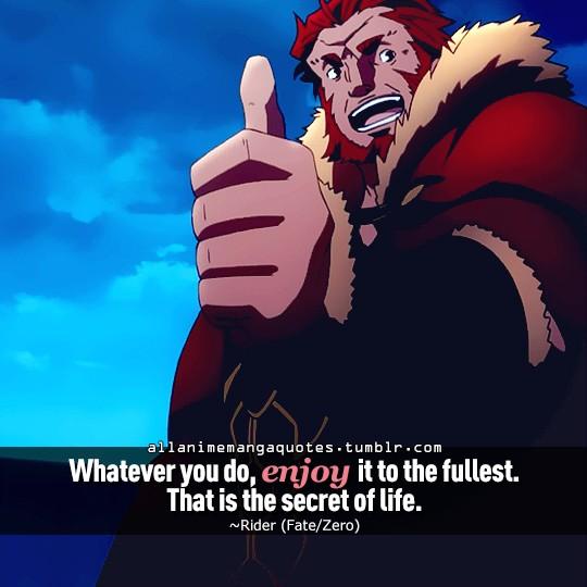 Anime Quotes - Magazine cover