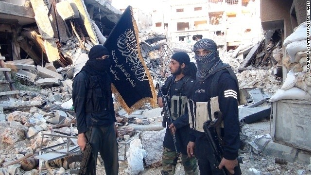 Report: Airstrikes target another Islamist group in Syria