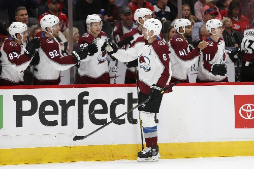 Avs strike fast, beat Caps to go to 5-0