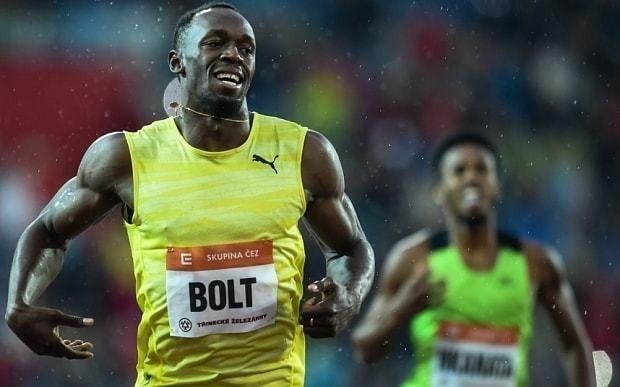 Usain Bolt shows glimpses of magic at World Challenge