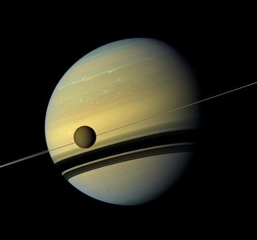 NASA to send drone to Saturn's moon for clues on human origins