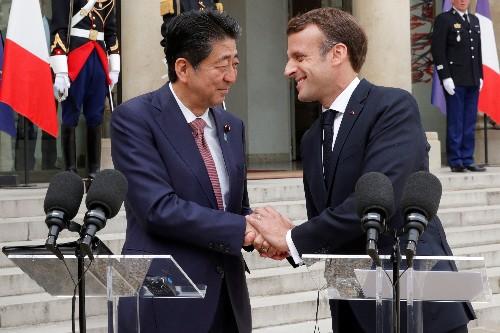 Macron veut sceller avec le Japon un plan bilatéral à cinq ans