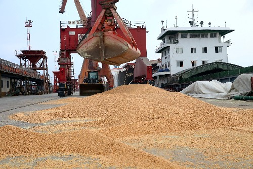 China's April soybean imports rise as buyers delayed cargoes on tax change