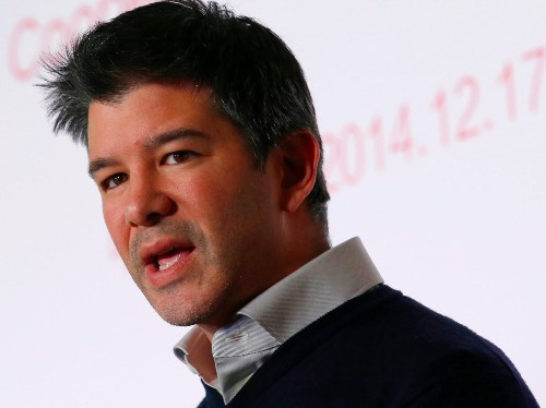"""Uber CEO Travis Kalanick believes in """"fast firing,' according to his text messages"""