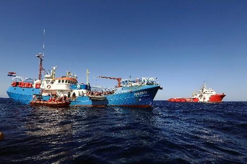 Captain of migrant rescue vessel refuses honor from Paris