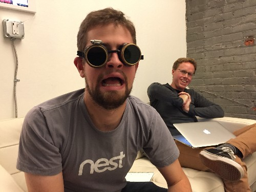 @timonus wears his goggles