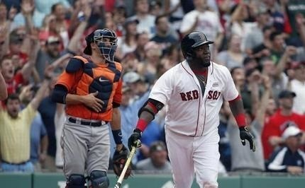 Big Papi puts on big show, lifts Red Sox over Astros in 11th