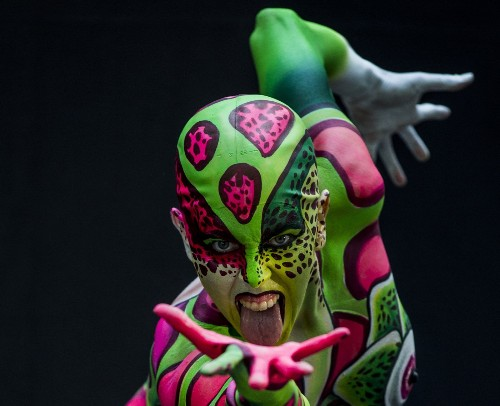 World Bodypainting Festival in Austria
