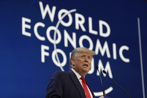 Trump tells business leaders of 'spectacular' US economy