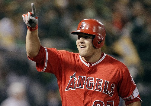 Trout, Angels finalize record $432 million, 12-year deal