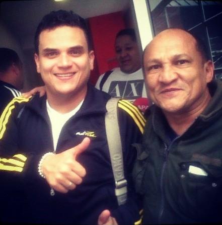 Con la estrella de la música colombiana, Silvestre Dangond
