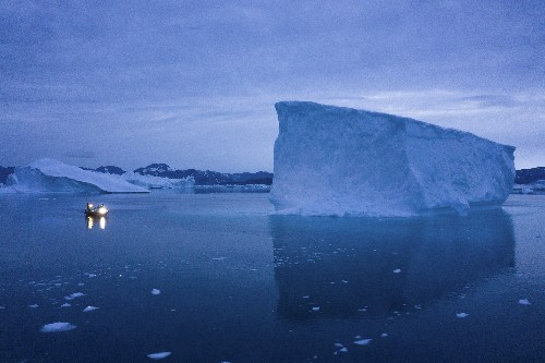 Climate change turns Arctic into strategic, economic hotspot