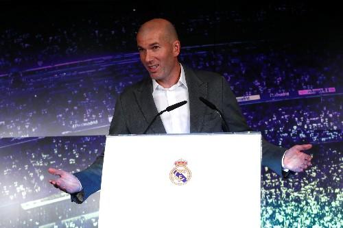 Factbox: Real Madrid coach Zinedine Zidane