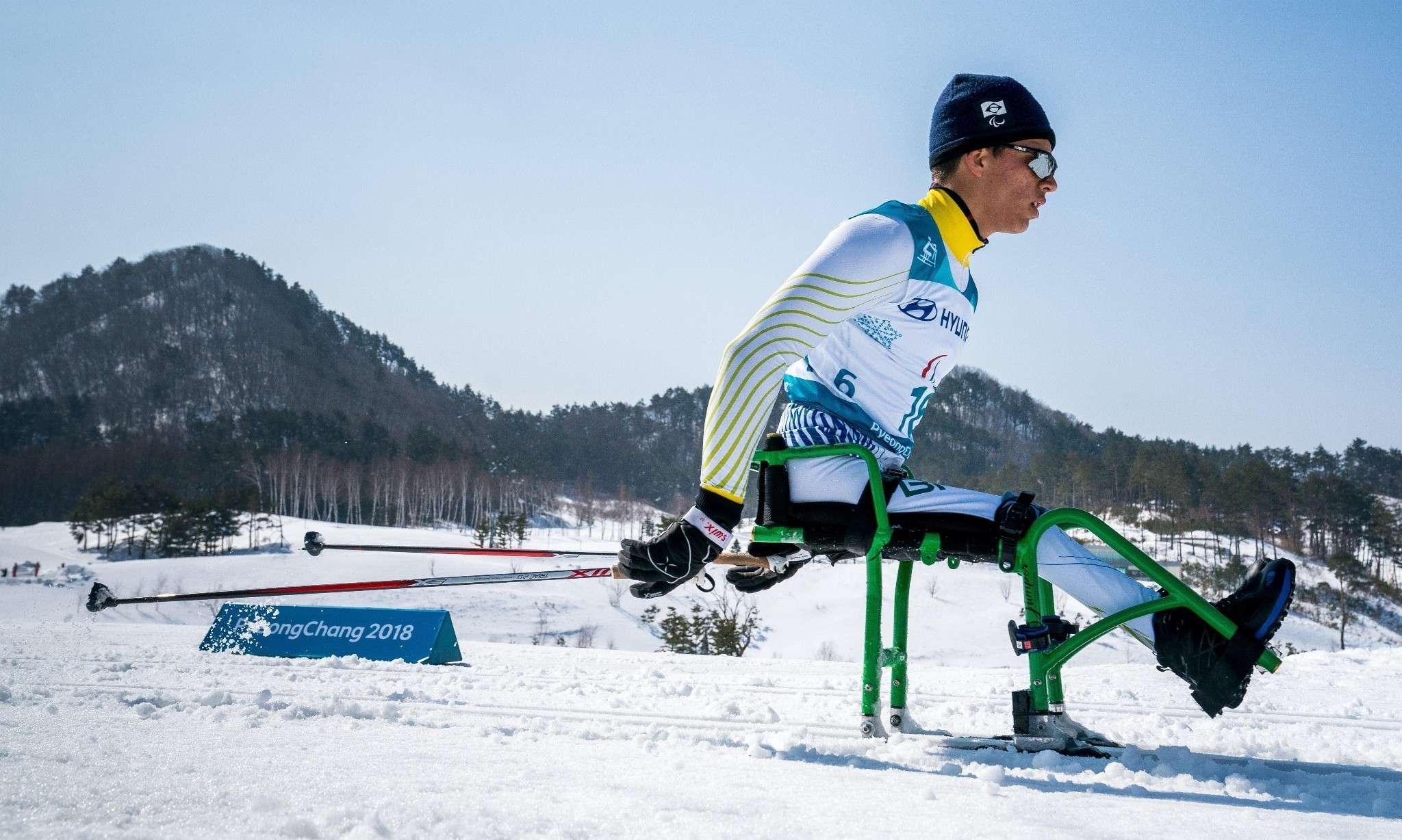 He only sees snow once a year: meet the youngest Winter Paralympian