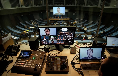Edward Snowden souhaite que Macron lui accorde l'asile en France