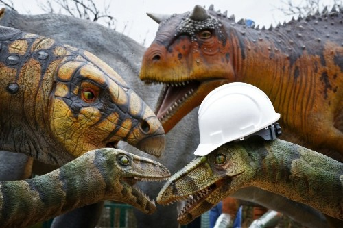 The Long Decline of the Dinosaurs