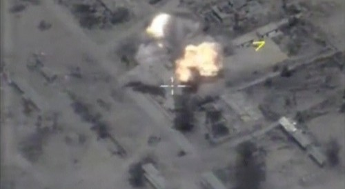 Russia fires cruise missiles at Islamic State targets from Mediterranean