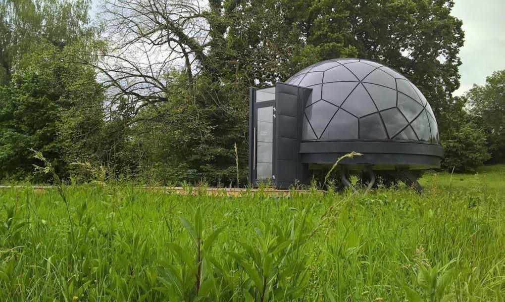 These prefab dome homes can be installed just about anywhere