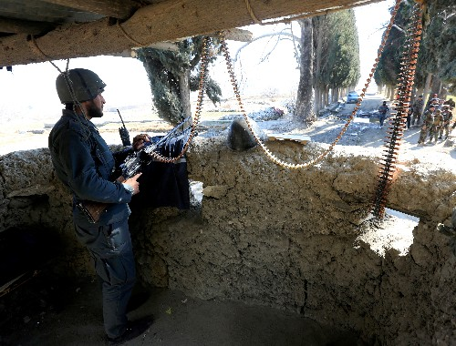 Taliban, Afghan forces clash on first day of violence reduction period
