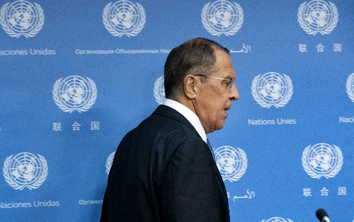 At UN, Russia says meddling claims baseless, slams the US