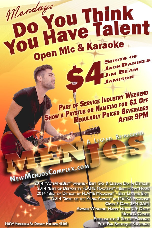 Karaoke is a weekly favorite among our customers. Come enjoy yourself with KJ Vince, Scotty behind the bar and all of the karaoke favorites. Take part in the Power Hour of live karaoke performances. Who knows? You might be selected as a special guest in the next Friday Night Live showcase.
