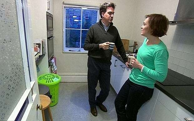 Ed Miliband: I have two kitchens but only use the small one