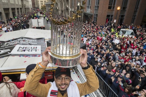 Boston Celebrates Red Sox World Series Title: Pictures