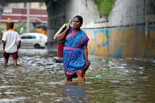 Wall collapse from heavy rain kills 17 in Tamil Nadu