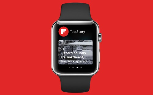 It Can Tell Time and Flip...Flipboard on the Apple Watch