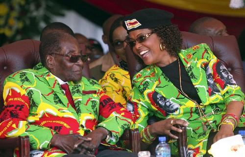 Zimbabwe's Grace Mugabe regains prominence for husband