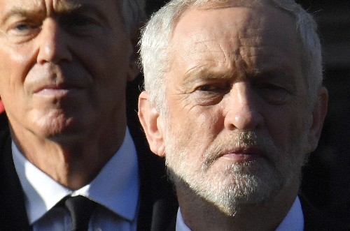 UK's Labour starts to reverse Blair's changes to nationalization policy