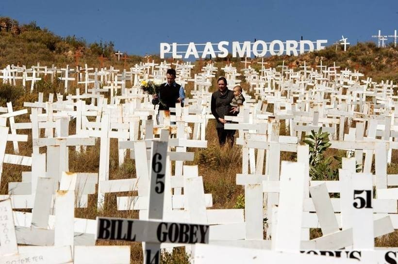 GENOCIDE OF THE WHITE FARMERS IN SOUTH AFRICA Part 2