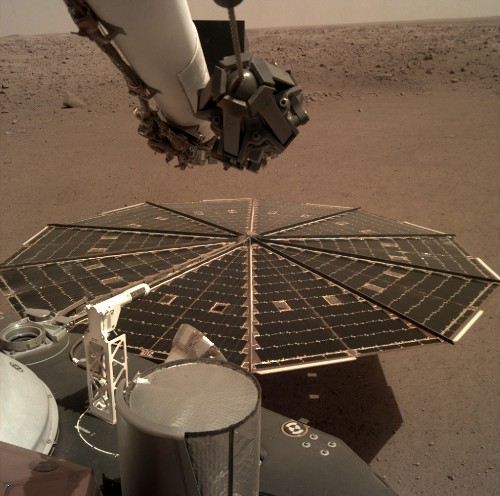 New NASA lander captures 1st sounds of Martian wind