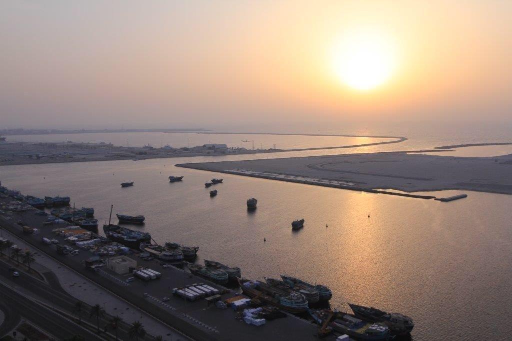 View at my apartment room, dierra, Dubai