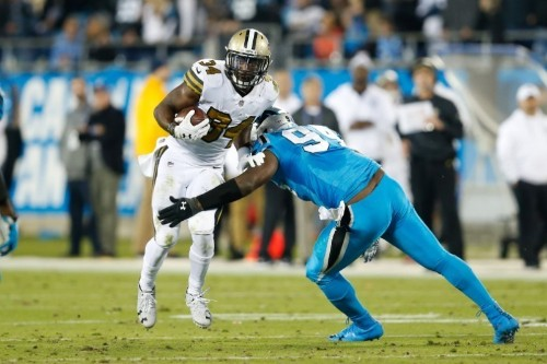 Panthers build big lead, hold off Saints