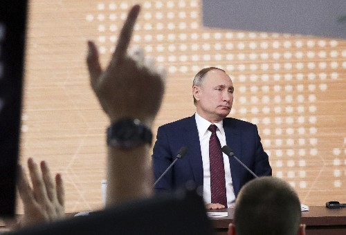 Putin says Trump was impeached for 'far-fetched' reasons