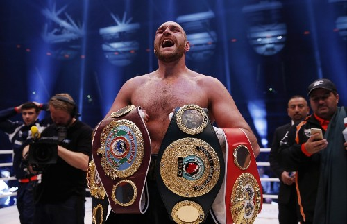 Britain's Tyson Fury Wins Heavyweight Championship: Pictures
