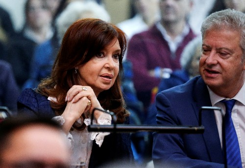 Argentina's Cristina Fernandez starts graft trial she blasts as 'smokescreen'