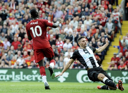 Mane scores 2 as Liverpool extends perfect EPL start