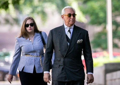 Trump adviser Stone loses bid to lift court-imposed gag order as trial looms