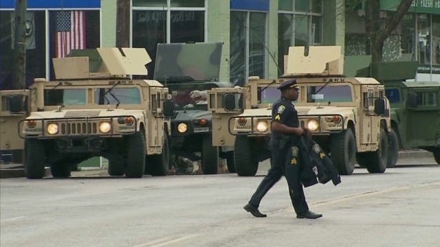 Obama: Review military equipment for police