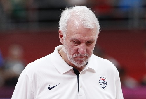 Popovich on World Cup: 'There's no blame to be placed'