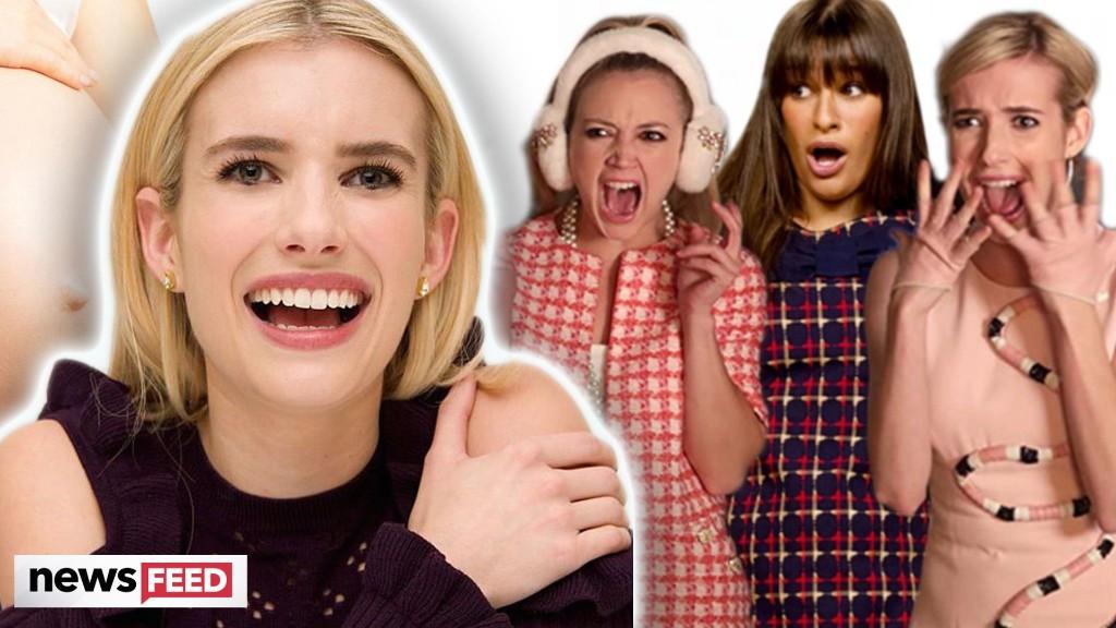 Emma Roberts Jokes About Her 'Witchcraft' Pregnancy