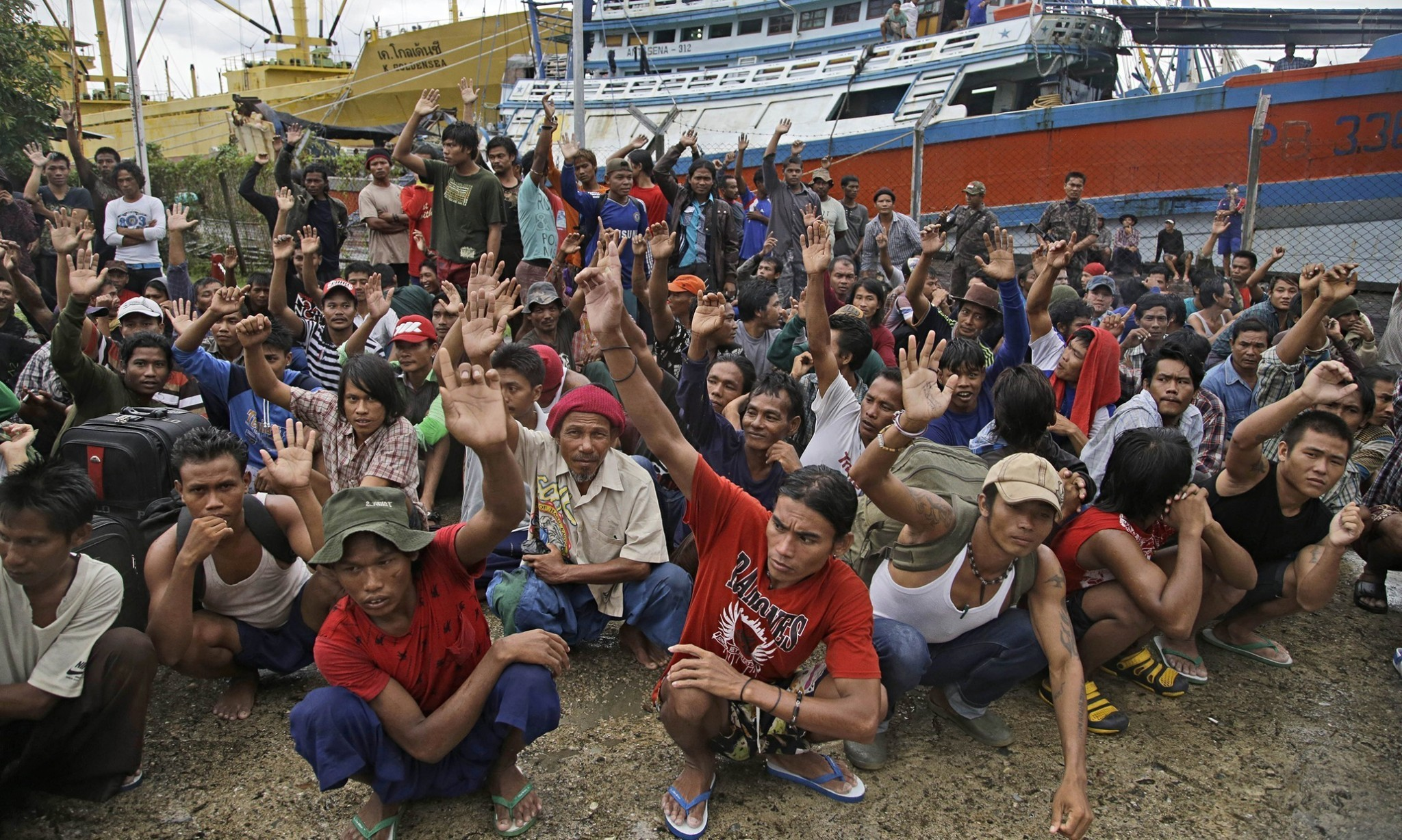 Hunt is on for 33 slave ships off coast of Papua New Guinea