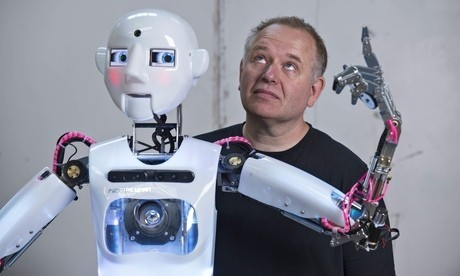 RoboThespian: the first commercial robot that behaves like a person