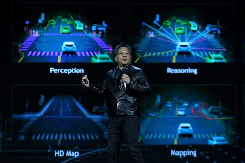Nvidia says its new supercomputer will enable the highest level of automated driving