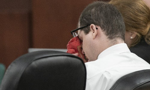 The Latest: Death sentence for father who killed his 5 kids