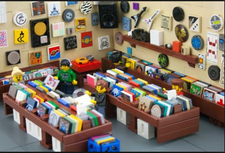 A music shop