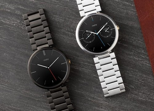 Motorola Starts Selling Moto 360s with Metal Bands For $50-$80 More