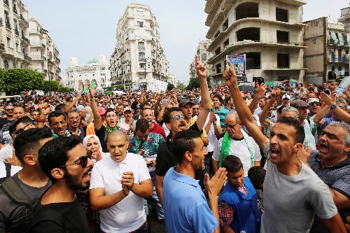 Algerian army chief moves to limit protest movement